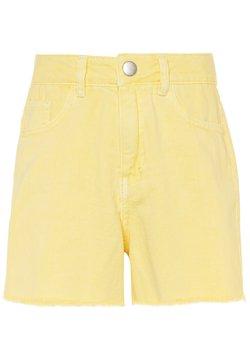 Name it - NKFRANDI MOM TWIIZZA CAMP - Jeansshort - yellow iris