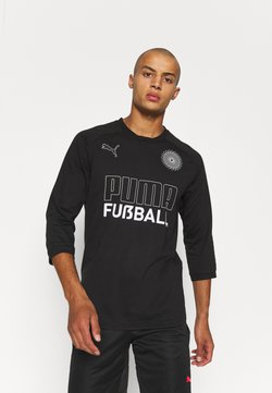 Puma - FUSSBALL KING TEE - Tekninen urheilupaita - black