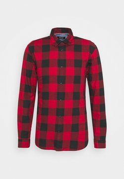 Jack & Jones - JJEGINGHAM  - Camisa - brick red