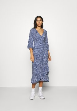 Monki - AMANDA DRESS - Maxikjoler - blue
