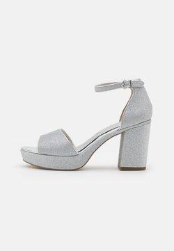 Tamaris - Sandalias con plataforma - silver glam