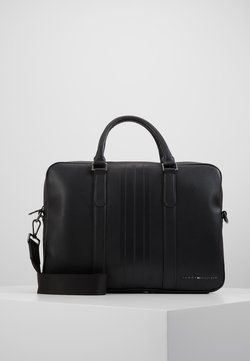 Tommy Hilfiger - SLIM COMPUTER BAG - Aktentasche - black