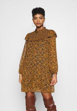 Object - OBJVIOLETTA DRESS  - Vestido informal - honey ginger