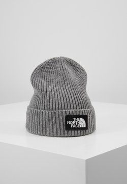 The North Face - LOGO BOX CUFFED BEANIE UNISEX - Pipo - medium grey heather