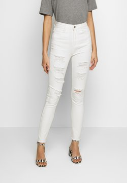 Missguided - SINNER EXTREME - Jeans Skinny Fit - white