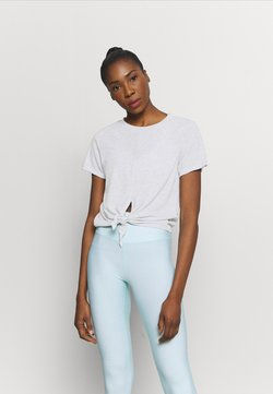 Cotton On Body - TIE UP  - T-Shirt basic - grey marle