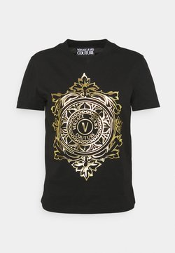 Versace Jeans Couture - Printtipaita - black/gold