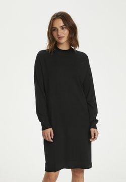 InWear - Vestido de punto - black