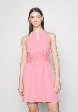 Vila - VIMILINA HALTERNECK DRESS - Cocktailkleid/festliches Kleid - wild rose