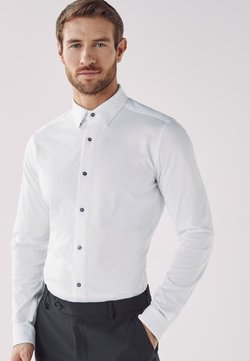 Next - MOTION FLEX KNITTED - Camicia elegante - white