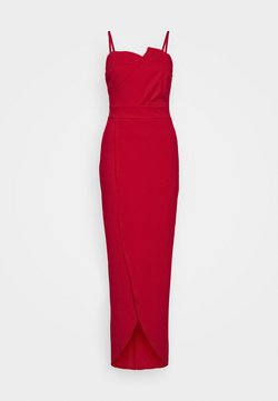WAL G. - PANEL DETAIL LONG DRESS - Ballkleid - red
