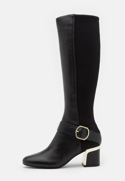 DKNY - CAIRA KNEE HIGH BOOT - Stiefel - black