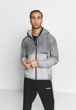 adidas Performance - TERREX WINDWEAVE LIGHT  - Outdoorjakke - grey four/white