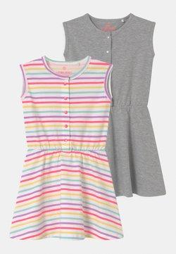 Lemon Beret - SMALL GIRLS 2 PACK - Jerseykleid - optical white