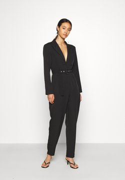 Missguided - TAILORED BELTED - Combinaison - black