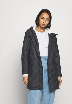 ONLY Petite - ONLSALLY RAINCOAT - Parkas - night sky/white
