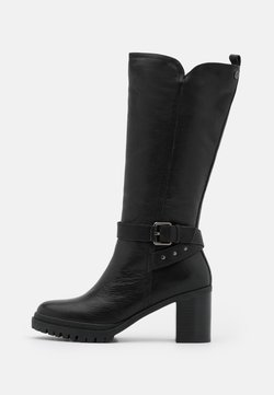 Carmela - LADIES BOOTS - Plateaulaarzen - black