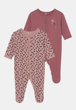 Name it - NBFNIGHTSUIT 2 PACK - Pijama de bebé - deco rose