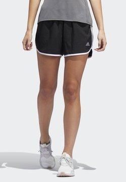adidas Performance - MARATHON 20 SHORTS - Pantalón corto de deporte - black