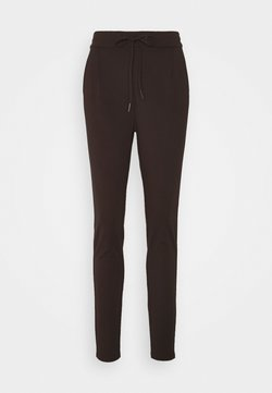 Vero Moda Tall - VMEVA LOOSE STRING PANTS  - Jogginghose - chocolate plum