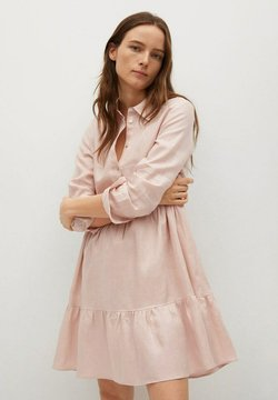 Mango - Shirt dress - rosa claro
