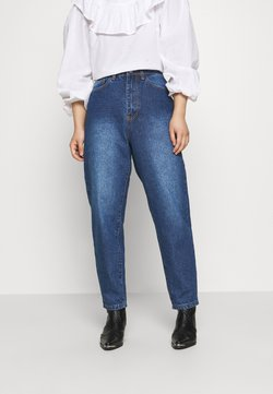 Missguided Petite - RIOT MOM - Jeans Relaxed Fit - blue