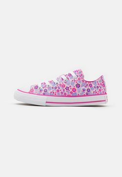 Converse - CHUCK TAYLOR ALL STAR FLORAL - Matalavartiset tennarit - pink/active fuchsia/white