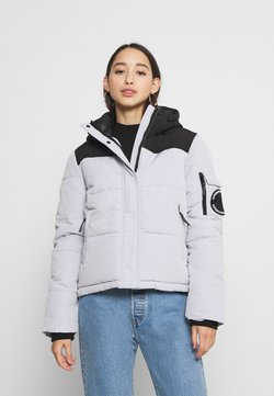 Superdry - QUILTED EVEREST JACKET - Winterjacke - light grey