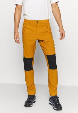 The North Face - MEN'S CLIMB PANT - Kangashousut - timbertan/black