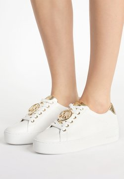 MICHAEL Michael Kors - POPPY LACE UP - Sneakers - optic white