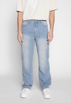 Jaded London - DISTRESSED SKATE - Jeans Relaxed Fit - mid blue wash