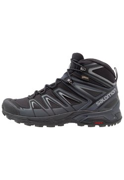 Salomon - X ULTRA 3 MID GTX - Hikingschuh - black/india ink/monument