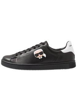 KARL LAGERFELD - KOURT IKONIC 3D LACE - Sneaker low - black