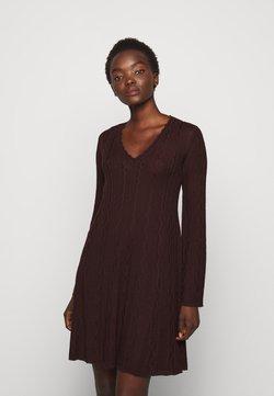 M Missoni - ABITO - Vestido de punto - bordeaux