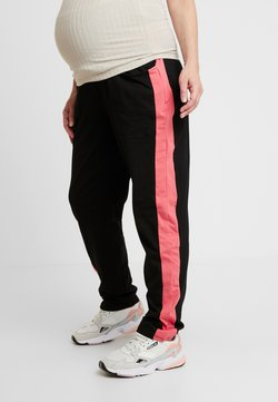 ohma! - SPORT TROUSERS WITH CONTRAST COLOR - Trainingsbroek - black