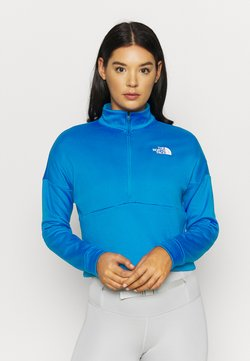 The North Face - ACTIVE TRAIL ZIP - Sweatshirt - bomber blue
