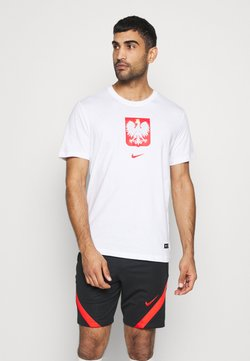 Nike Performance - POLEN TEE EVERGREEN CREST - T-shirt print - white