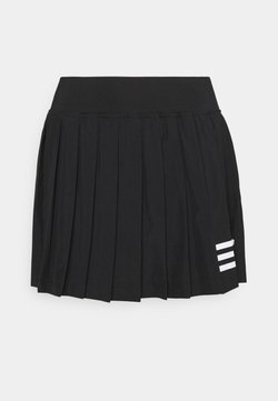adidas Performance - CLUB PLEATSKIRT - Sportkjol - black/white