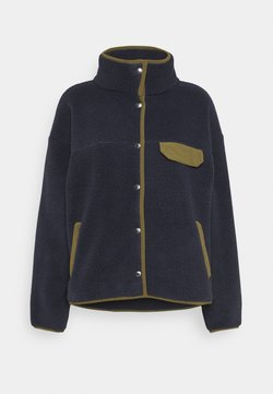 The North Face - WOMENS CRAGMONT JACKET - Fleecejacke - aviatornavy/militaryolive