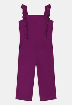 GAP - GIRLS ZIP  - Combinaison - purple wine