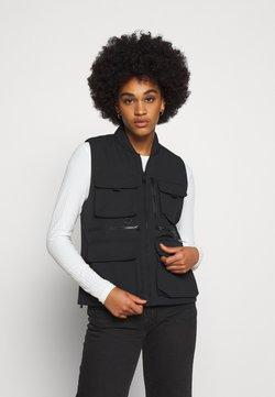 Carhartt WIP - W' COLEWOOD VEST - Smanicato - black