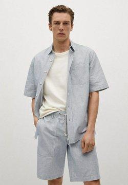 Mango - Shorts - blau