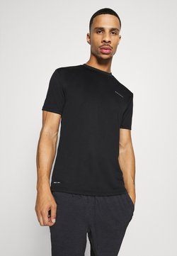 Endurance - VERNON PERFORMANCE TEE - Camiseta básica - black