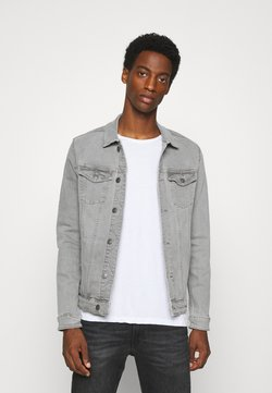 Springfield - TRUCKER - Veste en jean - medium grey