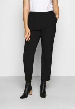CAPSULE by Simply Be - ESSENTIAL STRAIGHT LEG - Bukse - black