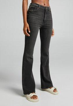 Bershka - Jeans a zampa - grey