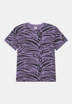 Lindex - MINI ZEBRA UNISEX - T-Shirt print - light dusty lilac
