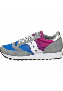 Saucony - SCHUHE JAZZ - Sneaker low - gray/blue/pink