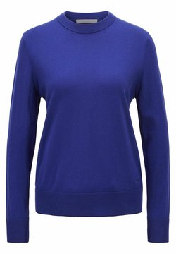BOSS - FIBINNA - Stickad tröja - dark purple