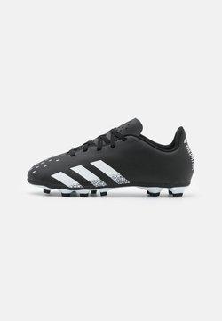 adidas Performance - PREDATOR FREAK .4 FXG UNISEX - Chaussures de foot à crampons - core black/footwear white